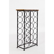 Accent Table w/rack